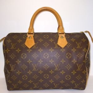 🌹Authentic Louis Vuitton Monogram Speedy 30